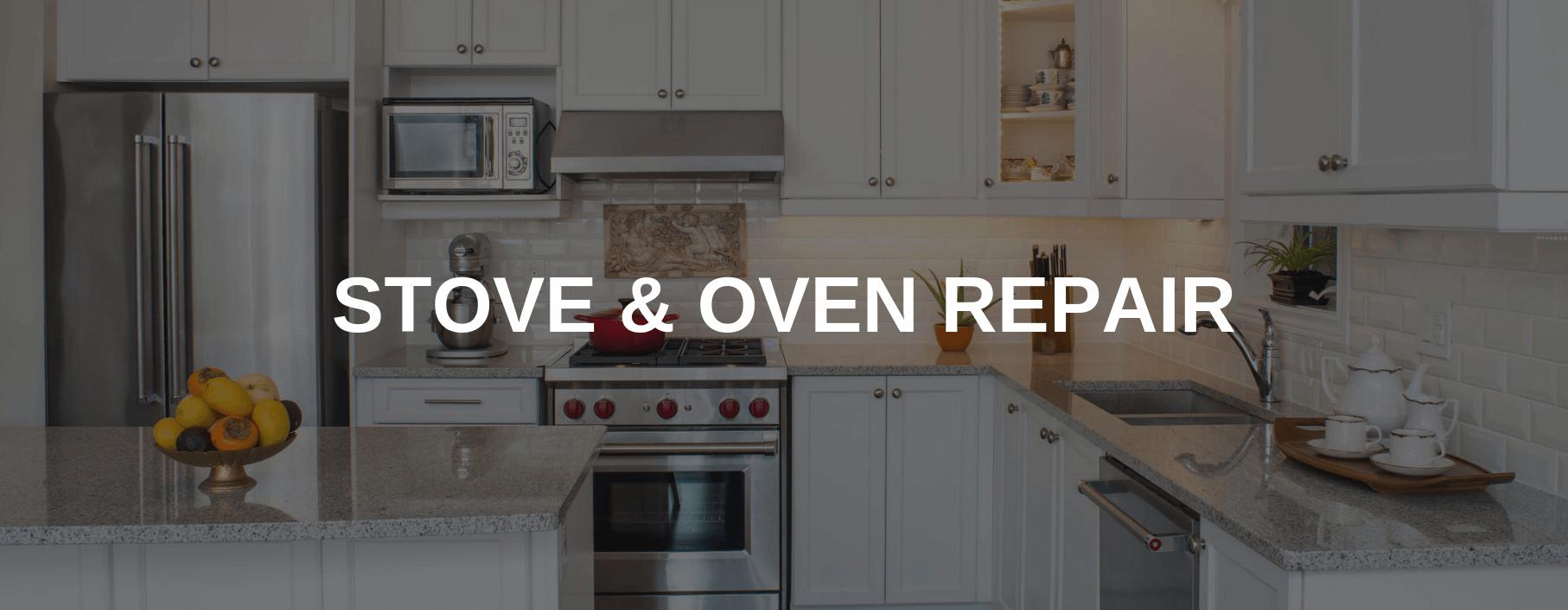 stove repair provo