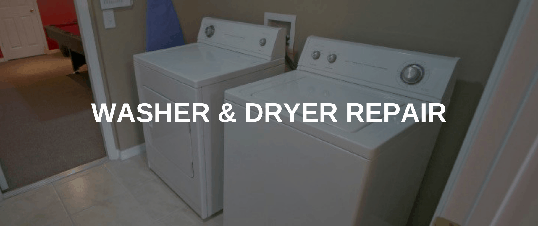 washing machine repair provo